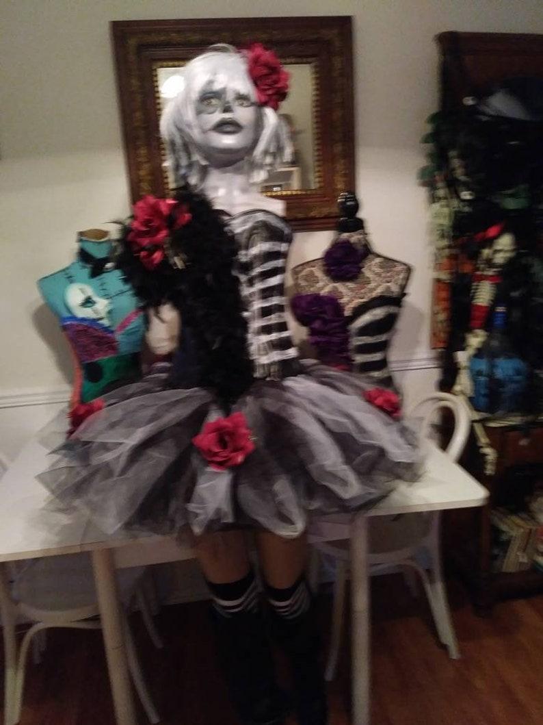 8e465dc8f8af7 Custom size, Dia de los muertos costume, corset costume, day of the dead  costume, Halloween costume womens, dia de los muertos, corset