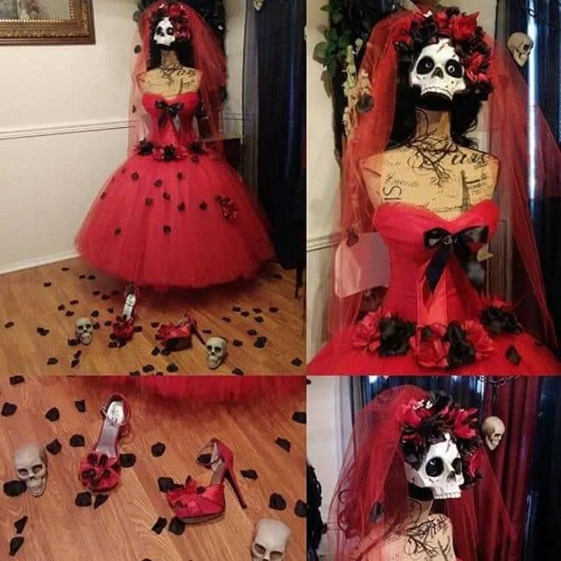 6d345edc6089e Custom size day of the dead costume, costumes for women, corset costume,  day of the dead, halloween costume, dia de los muertos costume