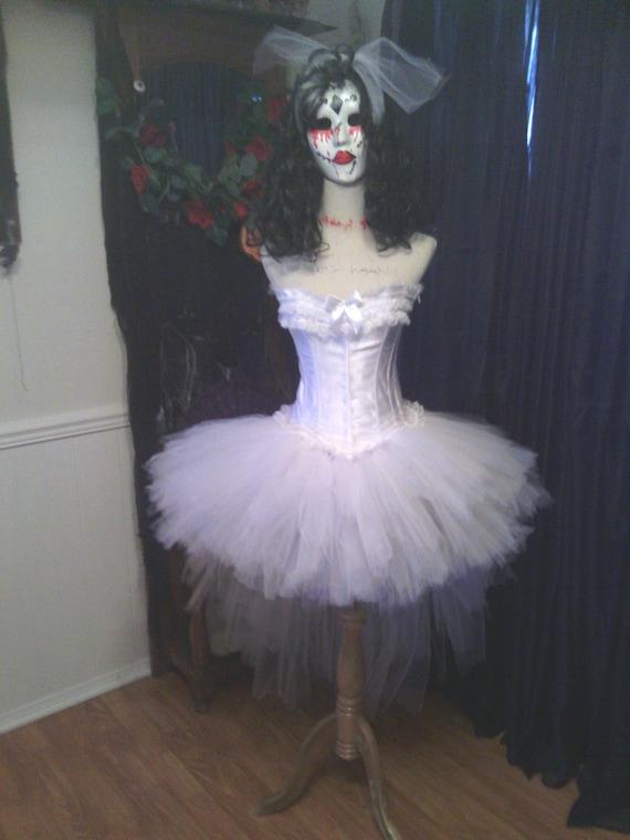 Custom size corset costume Madonna, purge, Candy girl costume, Tiffany  Bride of Chucky inspired. Halloween, 80s prom dress, womens costume