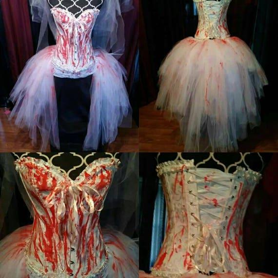 Custom Size Zombie Costume Purge Costume Candy Girl Etsy