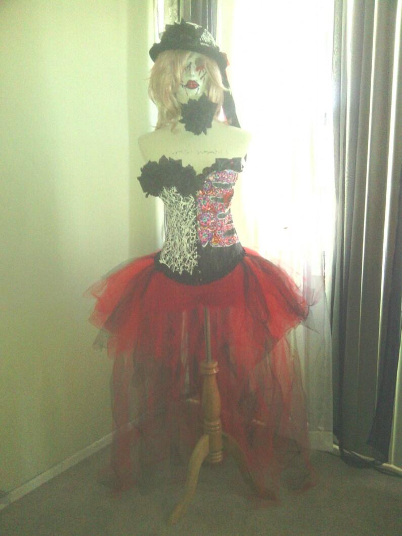 039e570d2826c Custom size Dia de Los Muertos costume, Burlesque, cosplay, costume, Day of  the dead costume, day of the dead, halloween costume womens
