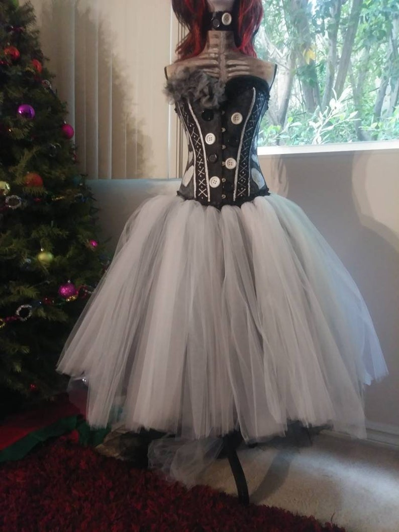 39de7121ff0fa Custom size Voodoo doll dress, killer clown, corset dress, womens costumes,  Halloween costumes, costumes for women, Voodoo doll, black magic