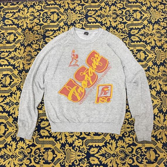 Vintage 70's - 80's Collegiate USC Trojans Distres