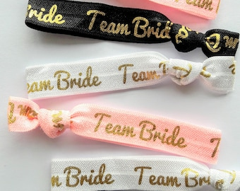 Team Bride Hair Ties, Hangover Kit, Hen Party Gift Bag, Modern Party, Bachelorette Party Gifts, Hen Party Decor, Bridesmaid Gift,Hen Favours