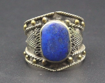 vintage ring,agate stone,nomadic ring,tribal ring,ethnic ring,gypsy ring,boho ring, vintage silver ring,ottoman ring Vintage jewelry