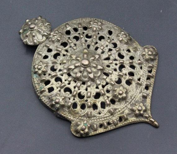 Ottoman Pendant, Ottoman Alpaka-Silver Costuming P