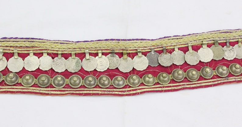 Belly Dance Belt Banjara Belt Kuchi Coin Ethnic Belt Festival Belt Boho Belt Gypsy Costuming Costuming Belt Afghan Kuchi Tribal Belt