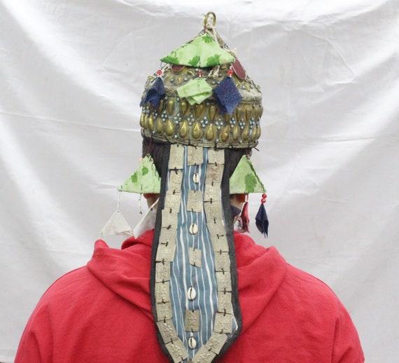 Afghan Traditional Kuchi Alpaka Tribal Hats, Vinta