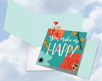 CQ6631JVDG Optimisms - Make Me Happy with Envelopes