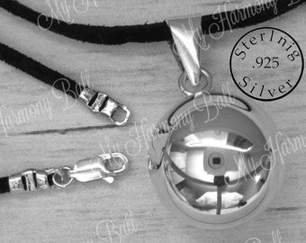 3b9205e8c 925 Sterling Silver Harmony Ball, Bola Ball, Angel Caller, Mom to Be,  Maternity Gift, Chime Ball, Bola Bell, Harmony Ball