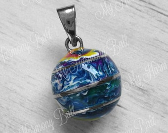 254926d3f Colorful Harmony Ball, Bola Ball, Angel Caller, Bola Bell, Mom to Be Gift,  Pregnancy Ball, Chime Ball, Dream Bell, Harmony Bell