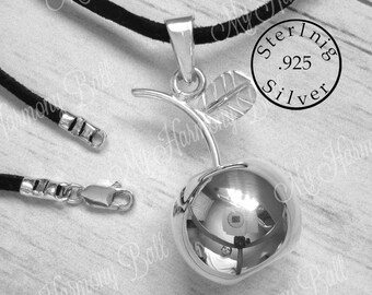 2af79af2a 925 Sterling Silver Apple Harmony Ball, Angel Caller, Bola Bell, Bola Ball,  Pregnancy Ball, Bola de Armonía, Mom to Be Gift, Mum to Be Gift