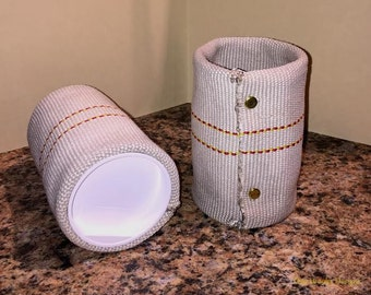 Fire Hose Can Cooler Made From Retired Firefighter Hose