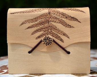 Fern Wooden Box