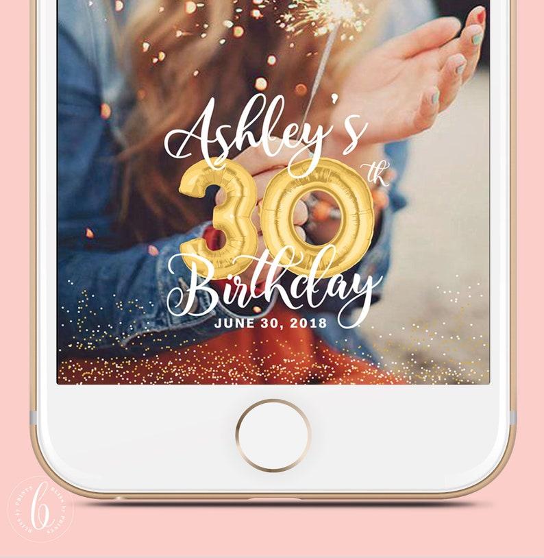 Birthday Snapchat Filter Birthday Filter Geofilter Snapchat image 0