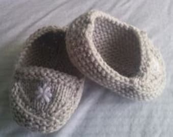 Moccasins baby 0-6 months