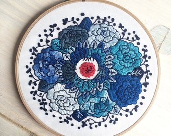 Embroidery - Flower power