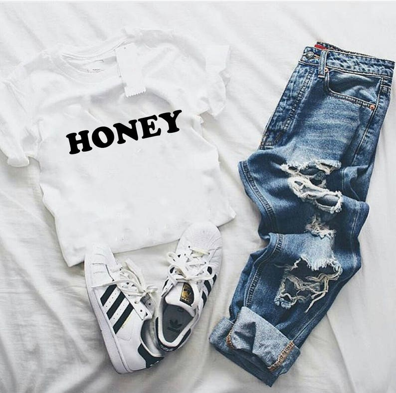 f296f182699 Honey tshirt tumblr shirts hipster grunge instagram tshirt | Etsy