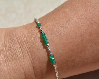 Personalized Custom Bracelet, 143 Bracelet, I Love You Bracelet, Handmade Gift Under 50, Secret Code Bracelet, Beaded Gemstone Bracelet