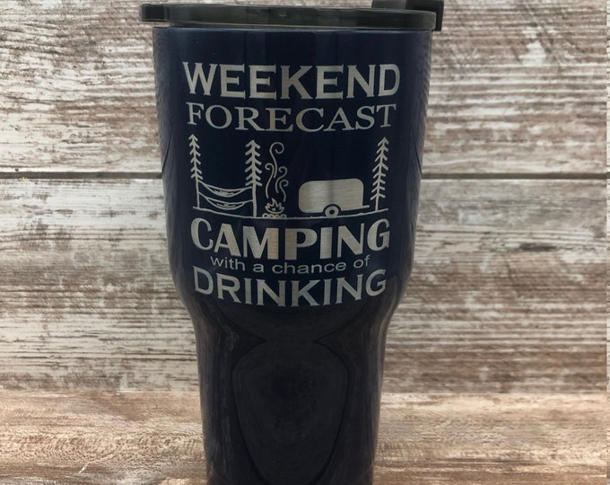 RTIC- Weekend Forecast Camping Tumbler - Insulated, Vacuum Sealed, Double Wall Tumbler - Cold For 24 Hours, Hot For 6 H