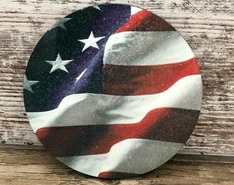 Freedom Coasters American Flag