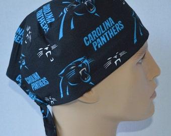 6ef36b6f4ed Carolina Panthers NFL Unisex Surgical Scrub Hat Cap