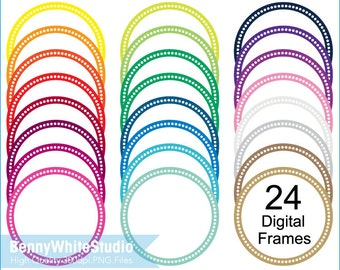 digital frames clip art transparent teacher commercial use 14