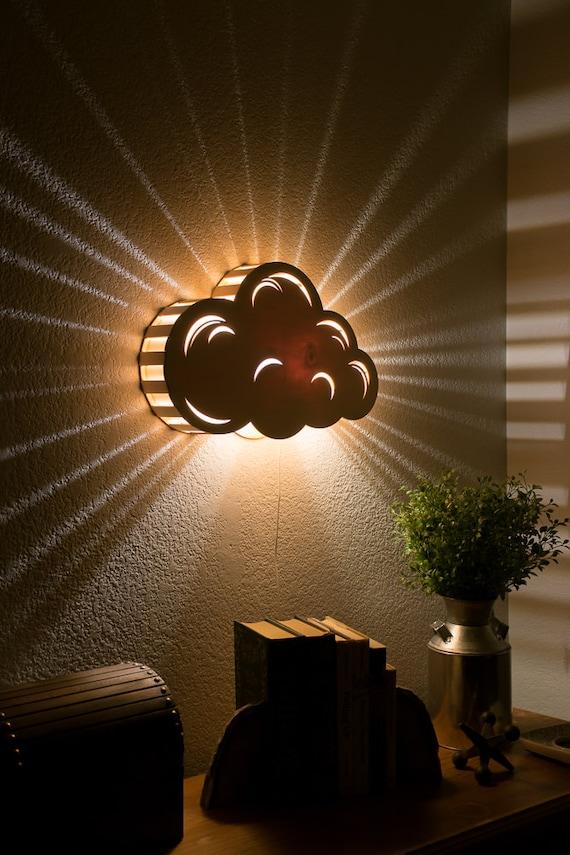 Laser Wood Lamp