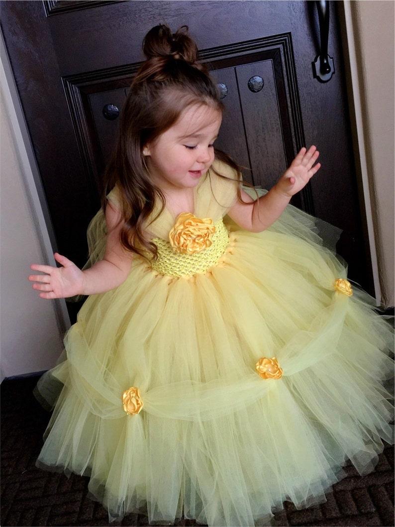 Belle inspired Princess Dress Belle inspired Dress  Princess image 0