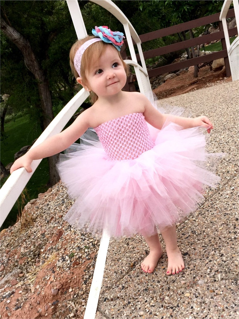 Tutu Dress Baby Birthday Little Girl