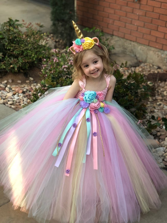 unicorn tutu dress unicorn birthday dress unicorn horn  etsy