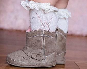 Baby Boot Socks Etsy