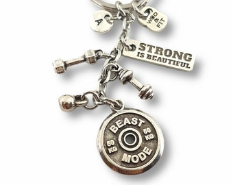 BEAST MODE Workout Gift - athlete gift - Exercise gift - Gym gifts - Gym gifts for her - Weightlifting - gift for best friendby Wod & Fit