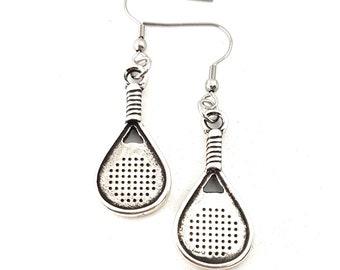 Padel Earrings Padel-Tennis Gift for Padel Lover -Padel Tennis gift -Gift for Padel -Padel Tennis Woman -Paddle tennis Gift- Woman Earrings
