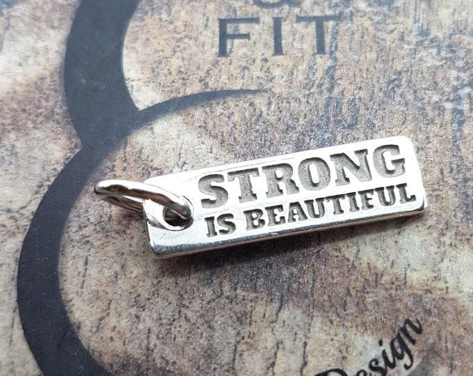 Motivational Pendent Word Fitness,No Pain No Gain,Kettlebell,Dumbbell,Wheigt Plate,Gym,Bodybuilding,Fitness Gift,Fitmom,Crosstraining,Sport