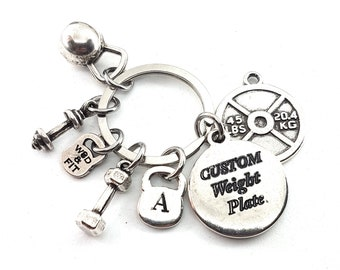 Custom KeyChain 45lbs Lumberjack Workout.Customizable Keychain,we can put your Name,Draw your Motivational Word.Fitness,Bodybuilding,Gym gif