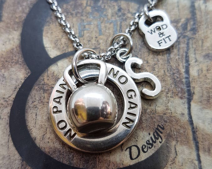 Necklace Kettlebell Fitness Workout,Motivation,Fitmom,Gym Gift,Coach Gift,Bodybuilding,Crossfit gift,Sport,Fitness Jewelry,Motivational Gift