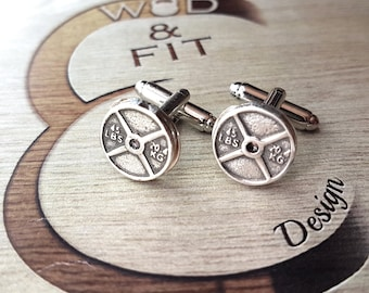 Weight Plate 45lbs Cufflinks Gift,Weightlifter,Bodybuilding Jewelry,Gym,Dad Gift,Father Gift,Fitness,Bodybuilder Gift,Wedding,Crossfit wod