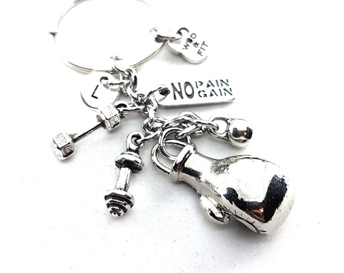 Featured listing image: Boxing Glove Keychain Fury,Motivation Jewelry,Coach gift,Personal Trainer,UFC,MMA,Gift Boxing Jewelry,Boxing Gift,Sport,Wod and Fit Original