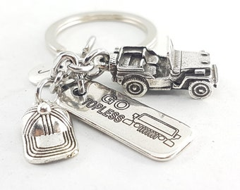 Keychain Willys Custom Word Offroad 4x4 Accessorios - Todoterreno - Off Road - Love Offroad - 4x4- Wrangler - Rubicon - Willys - Jeep Gift
