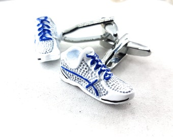 Runner Cufflinks.Coach Gift,Dad Gift,Father Gift,Fitness,Sport Cufflink,gift groom,Gift marriage,Dad Gift,Runner Man Gift,Marathon man Gift