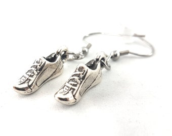 Runner Earrings - Love Run Shoe - Running Gift -Runner Girl- Running Jewels -Fitness - Fit Girl Jewels - Runner Girl Gift - Earrings Runner