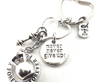 Keychain Kelly Workout Kettlebell Motivational Fitness,Fitmom Gym,Dumbbell,Weight Plate,Barbell,Motivation,Custom,Personalized Jewelry Mom