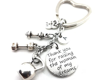 Keychain Super Mom Kettlebell Workout Weight Kettlebell,Fitness Jewels,Gym Gift,Crossfit mom,Crossfit Girl Gift,Gift for Mom,Bodybuilding