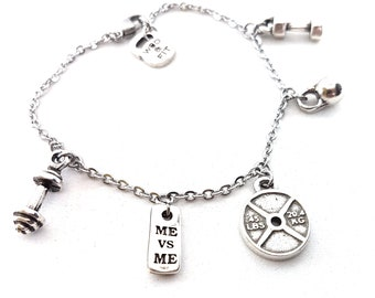 Bracelet Sport is my life Girl Gift,Fitness,Bodybuilding,Coach gift,Gym Gift,Runner,Fit Mom,Boxing Gift,Fitness jewelry,CrossFit Gift,Sport