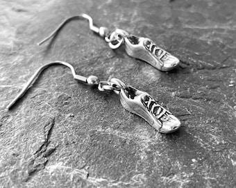 Runner Earrings - Love Run Shoe - Running Gift -Runner Girl- Running Jewels -Fitness - Fit Girl Jewels - Runner Girl Gift - Earrings Runner