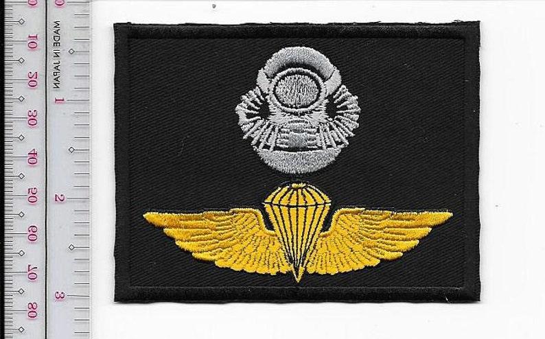 e20175b3c3c US Marine Corps USMC Force RECON Combat Diver Airborne Badge