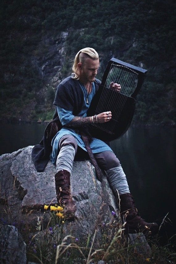 Viking Birka-Haithabu symmetrical Kaftan, Perfect garb for Norse, SCA and LARP Reenactment.
