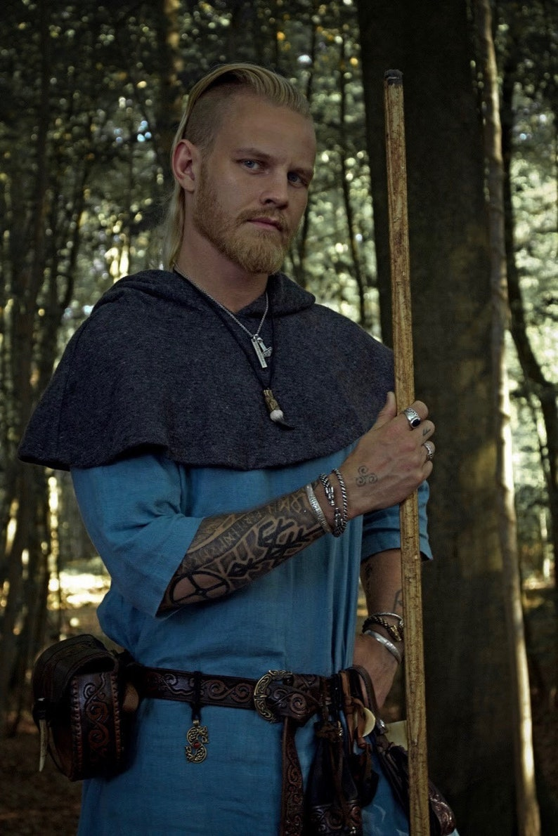 New Rounded Viking Skjoldehamn Archer Hood This Piece Of Etsy
