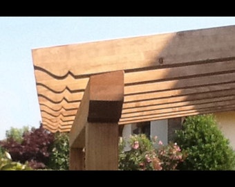 Outer wooden Pergola 4.30 x 3.30